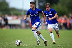 19 July 2017 -  Pre-Season Friendly - FC Twente v Everton - Kevin Mirallas and Callum Connolly of Everton - Photo: Marc Atkins / Offside.