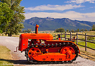 1941 Cletrac Model HG Crawler Tractor restored by Dennis Black of Arlee, Montana, USA