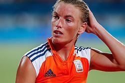 27-08-2004 GRE: Olympic Games day 14, Athens<br /> Hockey finale vrouwen Nederland - Duitsland 1-2 / Mijntje Donners #10