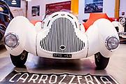 Milano , il collezionista di auto d'epoca Corrado Lopresto, Alfa Romeo 6C 1750 Gran Sport Aprile Spider Corsa