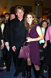 Top chef GORDON RAMSAY and his wife TANA at the Harpers & Queen and Moet & Chandon Restaurant Awards for 2004 held at Claridges, Brook Street, London on 1st November 2004.<br />