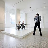 Nederland, Amsterdam , 26 augustus 2010..Perspresentatie en bekendmaking kunstenaars Taking Place, onderdeel van The Temporary Stedelijk.Press presentation and announcing the  artists of Taking Place, part of The Temporary Stedelijk Museum.