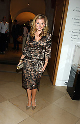 Singer KATHERINE JENKINS at a private view of 'The World's Most Photographed' exhibition hosted by Vanity Fair and Mont Blanc to celebrate Greta Gabo's 100th Birthday at the National Portrait Gallery, St.Martin's Place, London on 19th September 2005.<br />