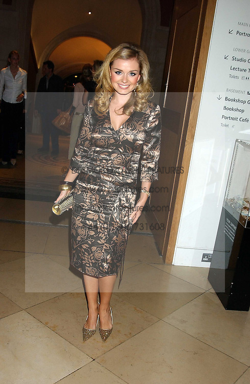 Singer KATHERINE JENKINS at a private view of 'The World's Most Photographed' exhibition hosted by Vanity Fair and Mont Blanc to celebrate Greta Gabo's 100th Birthday at the National Portrait Gallery, St.Martin's Place, London on 19th September 2005.<br /><br />NON EXCLUSIVE - WORLD RIGHTS