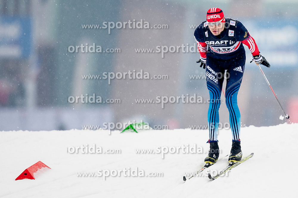Petr Sedov of Russia during mens 10km Classic individual start of the Tour de Ski 2014 of the FIS cross country World cup on January 4th, 2014 in Cross Country Centre Lago di Tesero, Val di Fiemme, Italy. (Photo by Urban Urbanc / Sportida)