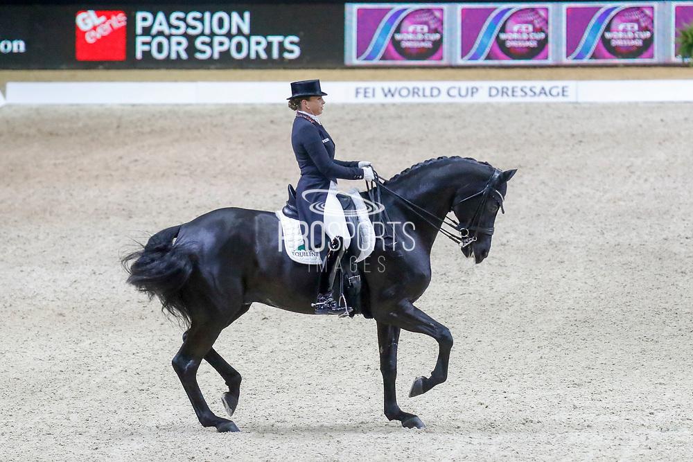 Dorothee Schneider on Sammy Davis Jr. during the Equestrian FEI World Cup Dressage Lyon 2017 on November 2, 2017 at Eurexpo Lyon in Chassieu, near Lyon, France - Photo Romain Biard / Isports / ProSportsImages / DPPI