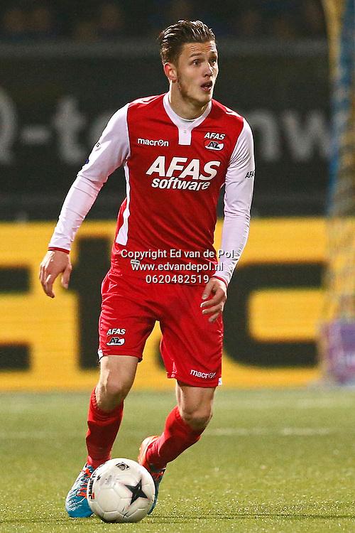 ALKMAAR - 29-11-2014 - Cambuur - AZ,  Cambuur Stadion, 0-2, AZ speler Jeffrey Gouweleeuw.