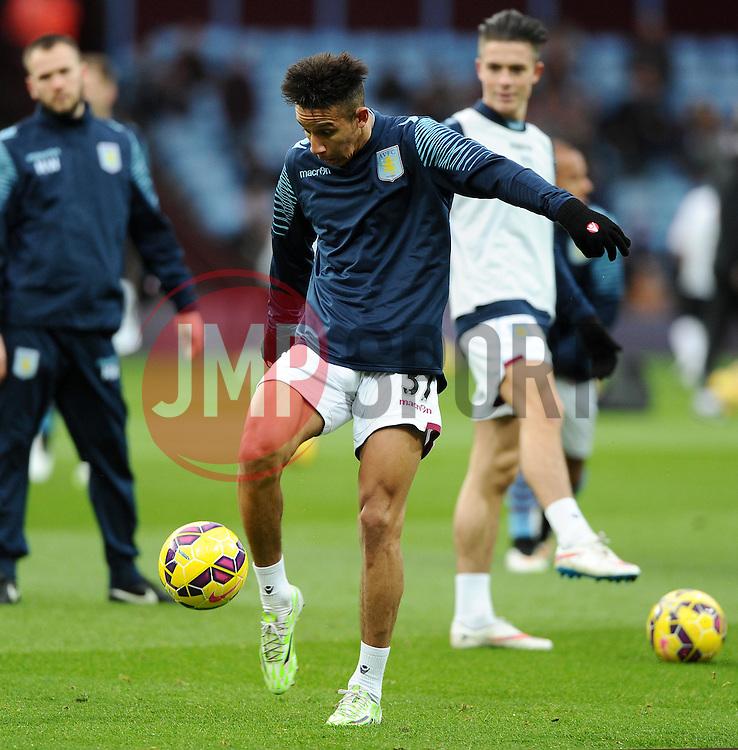 Aston Villa's Callum Robinson  - Photo mandatory by-line: Joe Meredith/JMP - Mobile: 07966 386802 - 20/12/2014 - SPORT - football - Birmingham - Villa Park - Aston Villa v Manchester United - Barclays Premier League