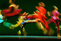 "Royal Ballet in Mark Morris' ""Gong"" October 2002<br />