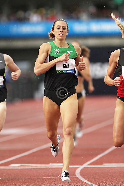Olympic Trials Eugene 2012: women's 800 meters semifinal, Geena Gall