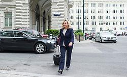 26.05.2014, OeVP Bundespartei, Wien, AUT, OeVP, Vorstandssitzung der OeVP Bundespartei. im Bild Nationalratsabgeordnete OeVP Maria Fekter // Member of Parliament OeVP Maria Fekter before board meeting of OeVP at federal party of OeVP in Vienna, Austria on 2014/05/26. EXPA Pictures © 2014, PhotoCredit: EXPA/ Michael Gruber