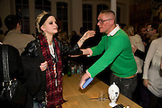 PIXIE GELDOF; GILES DEACON, Kate Grand hosts a Love Tea and Treasure hunt at Flash. Royal Academy. Burlington Gardens. London. 10 december 2008 *** Local Caption *** -DO NOT ARCHIVE-© Copyright Photograph by Dafydd Jones. 248 Clapham Rd. London SW9 0PZ. Tel 0207 820 0771. www.dafjones.com.<br /> PIXIE GELDOF; GILES DEACON, Kate Grand hosts a Love Tea and Treasure hunt at Flash. Royal Academy. Burlington Gardens. London. 10 december 2008