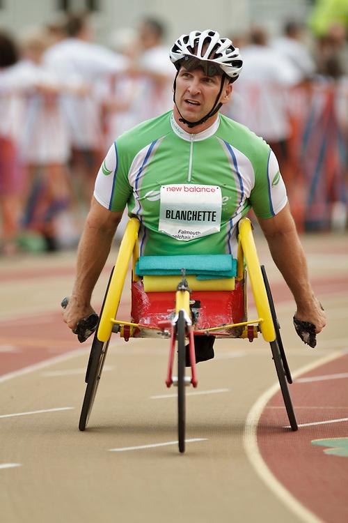 Falmouth Road Race: invitational wheelchair mile, Craig Blanchette