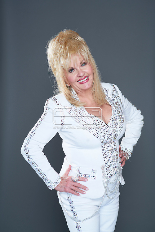 February 22, 2016. Las Vegas, Nevada.  The 22nd Reel Awards and Tribute Artist Convention in Las Vegas. Celebrity lookalikes from all over the world gathered at the Golden Nugget Hotel for the annual event. Pictured is Dolly Parton lookalike, Charlene Rose.<br /> Copyright John Chapple / www.JohnChapple.com /