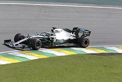 November 17, 2019, Sao Paulo, Brazil: LEWIS HAMILTON, of Mercedes AMG Petronas drives during the Formula One Grand Prix of Brazil 2019 at Interlagos circuit, in Sao Paulo, Brazil. (Credit Image: © Paulo Lopes/ZUMA Wire)