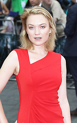 © Licensed to London News Pictures. Sophia Myles at The Wolverine UK film premiere, Leicester Square, London UK, 16 July 2013. Photo by Richard Goldschmidt/LNP