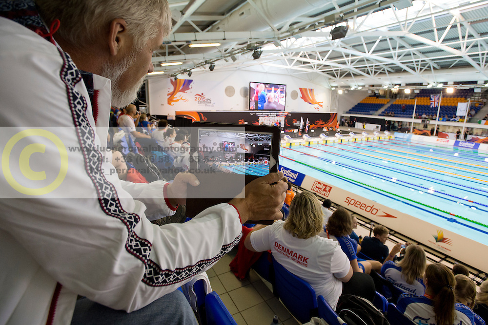 View  at 2015 IPC Swimming World Championships -  Opening ceremony