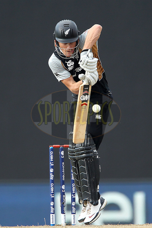 Kane Williamson during the ICC World Twenty20 Super 8s match between England and New Zealand held at the  Pallekele Stadium in Kandy, Sri Lanka on the 29th September 2012..Photo byRon Gaunt/SPORTZPICS/PHOTOSPORT