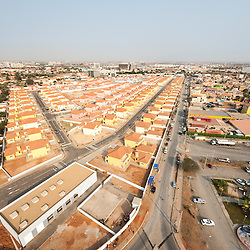 Vista aérea da cidade Luanda, capital de Angola. Luanda Sul (Belas, Talatona, Benfica)