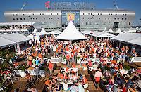 DEN HAAG - tijdens de wedstrijd om de World Cup hockey 2014 tussen de mannen van Nederland en Zuid Afrika.  ANP KOEN SUYK