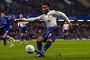 Tottenham Hotspur defender Danny Rose (3) crosses the ball during the EFL Cup semi final second leg match between Chelsea and Tottenham Hotspur at Stamford Bridge, London, England on 24 January 2019.