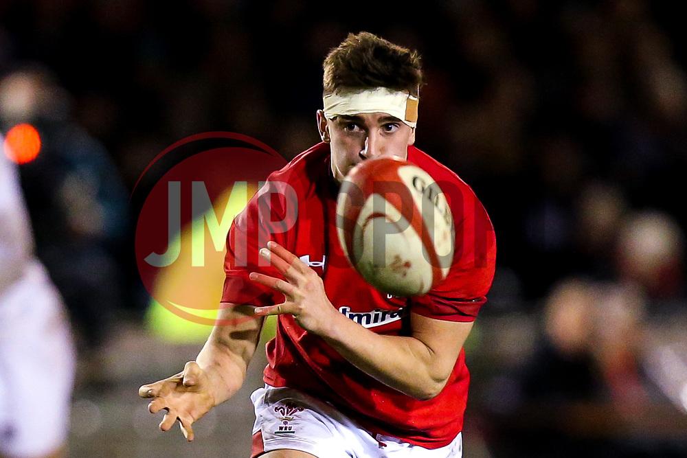 Dafydd Buckland of Wales U20 - Mandatory by-line: Robbie Stephenson/JMP - 22/02/2019 - RUGBY - Zip World Stadium - Colwyn Bay, Wales - Wales U20 v England U20 - Under-20 Six Nations