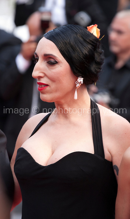 Actress Rossy de Palma at the Closing ceremony and premiere of La Glace Et Le Ciel at the 68th Cannes Film Festival, Sunday 24th May 2015, Cannes, France.