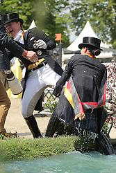 Sprehe Kristina, (GER), Werth Isabell <br /> German National Championship Dressage - Balve 2015<br /> Balve - Balve Optimum 2015<br /> © Hippo Foto - Stefan Lafrentz<br /> 14/06/15
