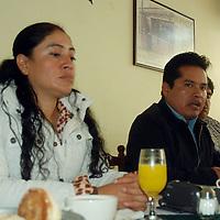 Toluca, Mex.- Vitalico Silva, líder de los antorchistas del Valle de Toluca, denuncio en conferencia de prensa que las autoridades del gobierno del estado no les han cumplido con las demandas solicitadas  por lo que mantendran sus marchas. Agencia MVT / José Hernández. (DIGITAL)<br /> <br /> NO ARCHIVAR - NO ARCHIVE