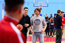 Bristol Flyers half time shoot out  - Photo mandatory by-line: Dougie Allward/JMP - 17/11/2017 - BASKETBALL - SGS Wise Arena - Bristol, England - Bristol Flyers v London Lions - BBL Championship