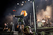 Paramore headlines Saturday night at the Beale Street Music Festival in Memphis, Tennessee.