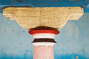 Pillar of home in South India.