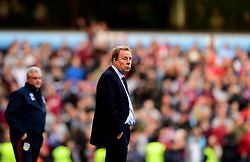 Birmingham City manager Harry Redknapp cuts a dejected figure  - Mandatory by-line: Joe Meredith/JMP - 23/04/2017 - FOOTBALL - Villa Park - Birmingham, England - Aston Villa v Birmingham City - Sky Bet Championship