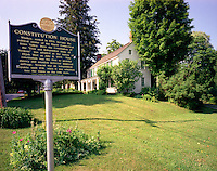 "Constitution House, Windsor, VT, is the birthplace of the ""Free and Independent State of Vermont."""