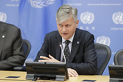 May 24, 2019 - New York, NY, USA - United Nations, New York, USA, May 24, 2019 - Jean-Pierre Lacroix, Under-Secretary-General for Peace Operations, briefs reporters on the occasion of the International Day of United Nations Peacekeepers (29 May) today at the UN Headquarters in New York..Photo: Luiz Rampelotto/EuropaNewswire..PHOTO CREDIT MANDATORY. (Credit Image: © Luiz Rampelotto/ZUMA Wire)