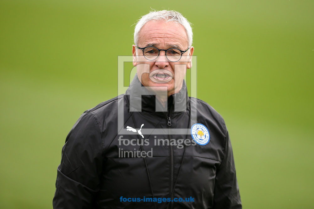Leicester City manager Claudio Ranieri during the Leicester City training session at Leicester City Training Ground, Leicester<br /> Picture by Andy Kearns/Focus Images Ltd 0781 864 4264<br /> 26/09/2016