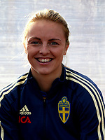 International Women's Friendly Matchs 2019 / <br /> Womens's Algarve Cup Tournament 2019 - <br /> Portugal v Sweden 2-1 ( Municipal Stadium - Albufeira,Portugal ) - <br /> Mimmi Larsson of Sweden