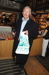 SIR TERENCE CONRAN at a party to celebrate the publication of The New English Table by Rose Prince held at The Daunt Bookshop, Marylebone High Street, London on 9th April 2007.<br />