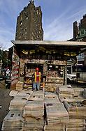 New York. News stand. Greenwich village (west village)  New York  Usa /   kiosque a journaux. Greenwich village (west village)  New York  USa
