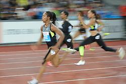 30.08.2012, Stadion Letzigrund, Zuerich, SUI, Leichtathletik, Weltklasse Zurich 2012, im Bild Siegerin Shelly-Ann Fraser-Pryce (JAM), 100m Frauen // during Athletics World Class Zurich 2012 at Letzigrund Stadium, Zurich, Switzerland on 2012/08/30. EXPA Pictures © 2012, PhotoCredit: EXPA/ Freshfocus/ Valeriano Di Domenico..***** ATTENTION - for AUT, SLO, CRO, SRB, BIH only *****