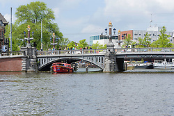 Amsterdam centrum, Amstel, Blauwbrug, Amsterdam, Noord Holland, Netherlands