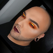 Exclusive Feature: <br /> <br /> Twenty six year-old Tim O has been so inspired by his favourite snacks, that he has matched his make up to each snack. He uses specific colours from chip packets and beer cans. He has even started posting tutorials on how he does this on YouTube.<br />  <br /> ìThe inspiration behind the snack makeup is basically just because ím a fatty that loves to eat! It is mixing my two favourite things ñ food and makeup says Tim O.<br />  <br /> The self-confessed fatty has been into makeup since he was 16 years old and is a huge passion of his.<br />  <br /> At first, I was scared to post my images in fear that people would judge me, but Ive learned to love myself and not care what anyone thinks or says. But ever since I posted my snack makeup, people love it and Tím glad I wasn't embarssed to post it<br />  <br /> Tim O claims that his main aim it to make people laugh and provide inspiration.<br /> ©Exclusivepix Media
