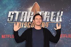 Jason Isaacs attending a Star Trek: Discovery fan screening at Millbank Tower in London.