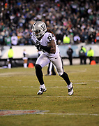 Dec 25, 2017; Philadelphia, PA, USA; Oakland Raiders wide receiver Cordarrelle Patterson (84) during a NFL football game at Lincoln Financial Field. The Eagles defeated the Raiders 19-10. Photo by Reuben Canales