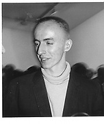 Tony Fretton. Lisson Gallery 24/3/87.© Copyright Photograph by Dafydd Jones 66 Stockwell Park Rd. London SW9 0DA Tel 020 7733 0108 www.dafjones.com