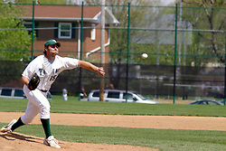 22 April 2006:  ....Titan pitcher of record Dave Dobosz.....In CCIW, Division 3 action, the Titans of Illinois Wesleyan capped the Auggies of Augustana College by a scor of 3-2 in game one of a double card afternoon.  Games were held at Jack Horenberger field on the campus of Illinois Wesleyan University in Bloomington, Illinois