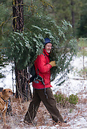 Annual holiday tree hunt at the Metolius Preserve.