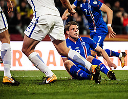 September 2, 2017 - Tampere, Finland - Iceland's Björn Sigurdarson The FIFA World Cup 2018 Group I football qualification match between Finland and Iceland in Tampere, Finland, on September 2, 2017. (Credit Image: © Antti Yrjonen/NurPhoto via ZUMA Press)