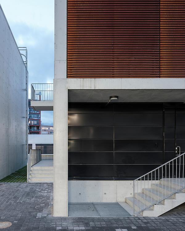 Lauttasaari electrical substation in Helsinki, Finland designed by Virkkunen & Co architects.