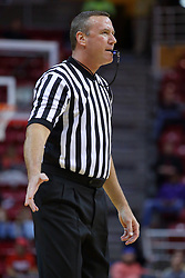 29 December 2016:  Brad Ferrie during an NCAA  MVC (Missouri Valley conference) mens basketball game between the Evansville Purple Aces the Illinois State Redbirds in  Redbird Arena, Normal IL